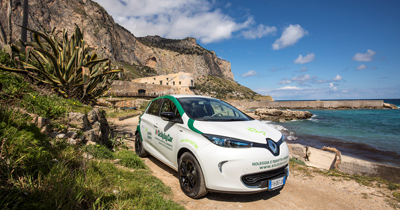 Roulez en voiture électrique même dans les recoins isolés de la Sicile