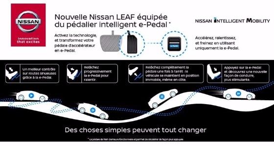 Avec e-Pedal, vous n'aurez plus besoin de freiner — Nouvelle Nissan Leaf